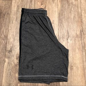 "Under Armour Gray Raid Shorts Large 10"" Inseam"